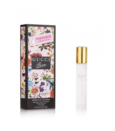 Масляные духи Gucci Flora by Gucci Gorgeous Gardenia