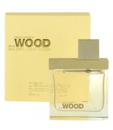 DSQUARED2 - She Wood Golden Light Wood (Дискваред 2 - Ши Голден Лайт Вуд Золотые)
