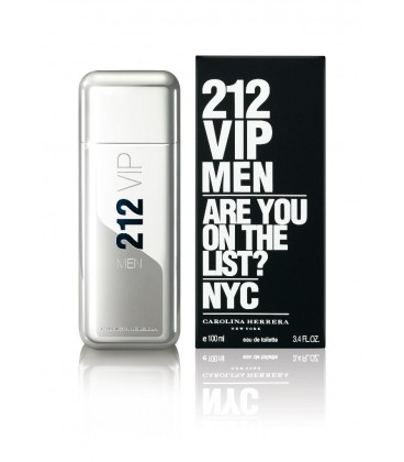 Оригинал Carolina Herrera 212 VIP MEN for Men