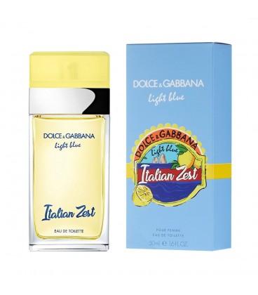 DOLCE GABBANA LIGHT BLUE ITALIAN ZEST POUR FEMME (Дольче Габана Лайт Блю Италиан Зест)