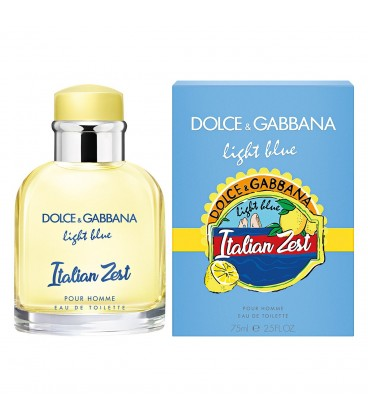 Dolce Gabbana LIGHT BLUE ITALIAN ZEST POUR HOMME(Дольче Габана Лайт Блю Италиан Зест пур хом)