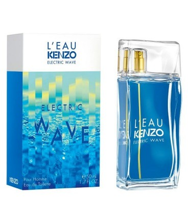 Оригинал Kenzo L`EAU PAR ELECTRIC WAVE Eau De Toilette For Men
