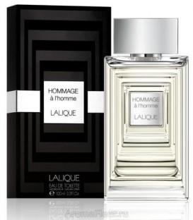 Оригинал Lalique HOMMAGE A L`HOMME For Men