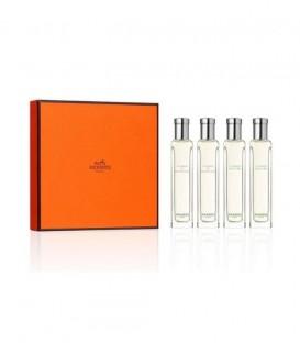 Набор женского парфюма Hermes (edc 4x15 ml) (парфюмерный набор Гермес)