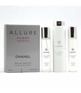 Chanel Allure Homme Sport for men 3х20ml