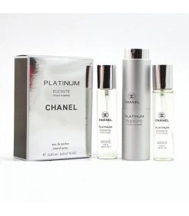 Chanel Platinum Egoiste for men 3х20ml
