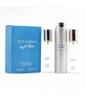 Dolce & Gabbana Light Blue for women 3х20ml
