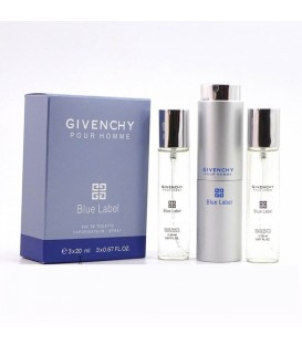 Givenchy Pour Homme Blue Label for men 3х20ml